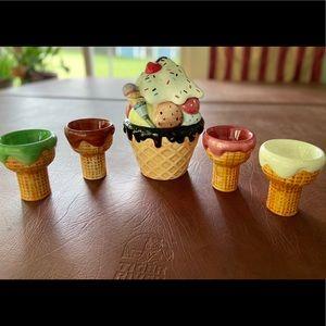 Ice Cream Sundae Cookie Jar